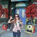 Norm in front of Monsters University