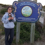 Norm & Vilma visiting Oak Island. Vilma is in the Special Education – Adapted Curriculum Master's program