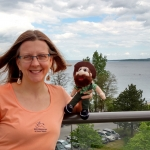 RESP Therapy student Denise took Norm to Traverse city, Michigan!