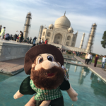 RT student, Ben Hales took Norm to study abroad!
